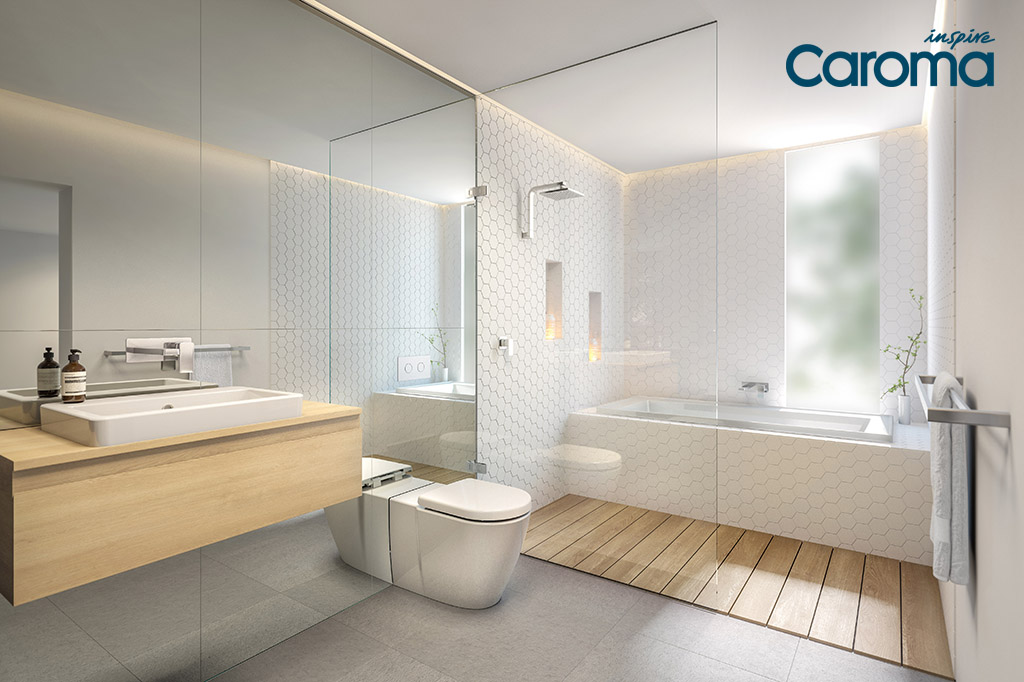 Bathroom inspiration with caroma harvey norman for Toilet inspiration