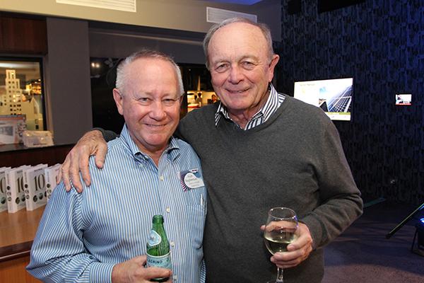 Alan Stephenson and Gerry Harvey