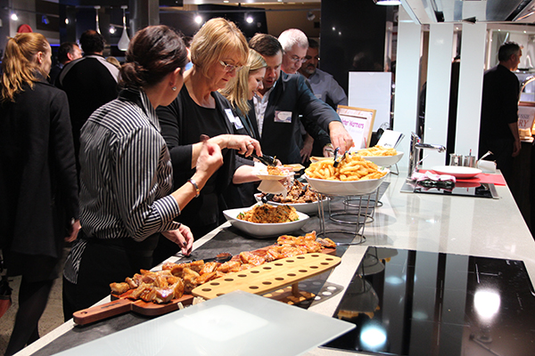 Winter Warmer Meats Station by The Hospitality Establishment