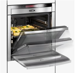 600mm electric slide and hide oven harvey norman commercial blog. Black Bedroom Furniture Sets. Home Design Ideas