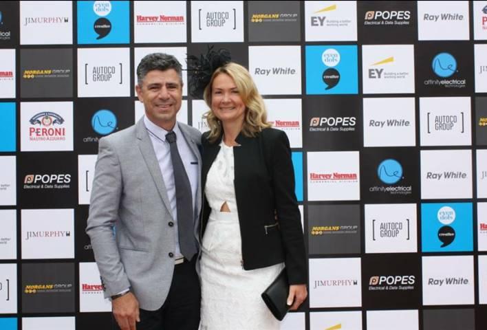 Peter and Karen Sarris from Evri Grou