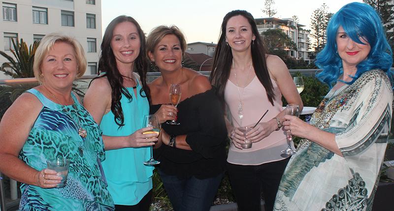 Lynda, Kylie, Lorraine, Keryn and Carole