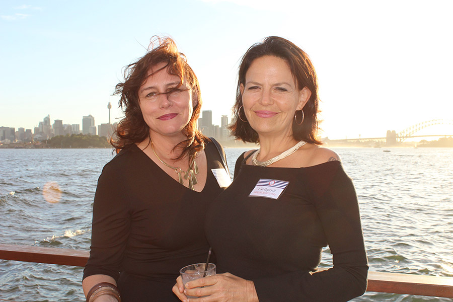 Lisa Papesch from Papesch Architecture and Melinda Lawton from Eleven Eleven