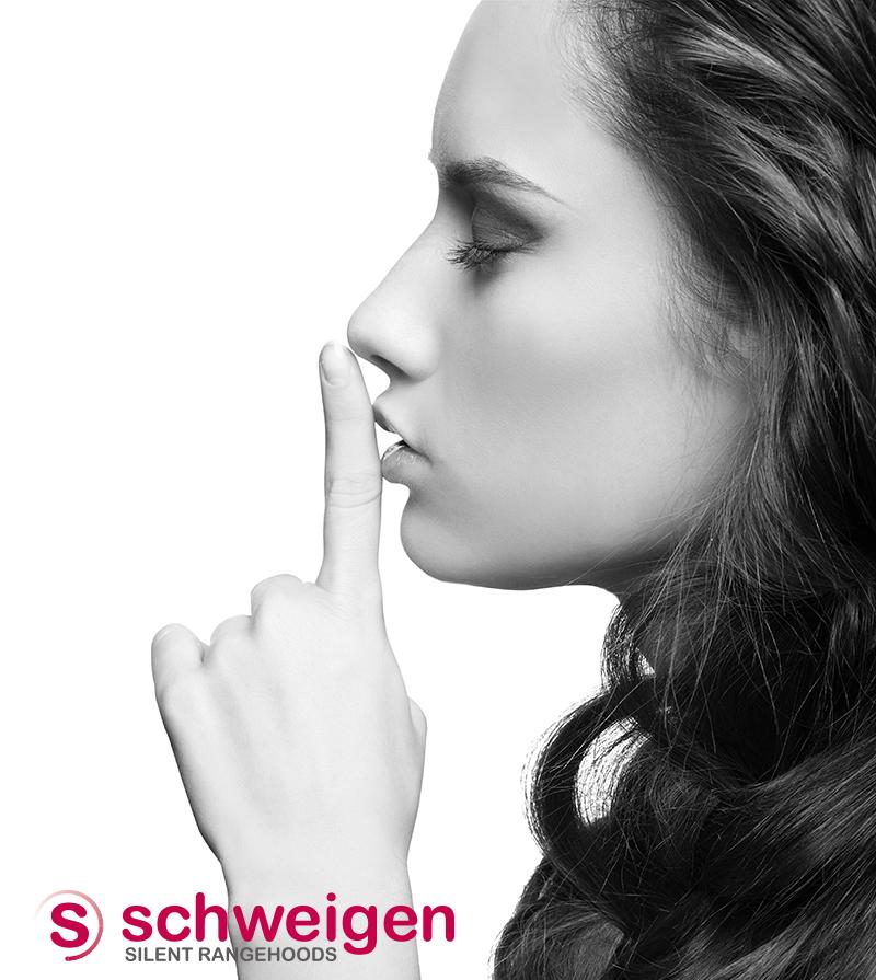 Schweigen_B&Wwoman