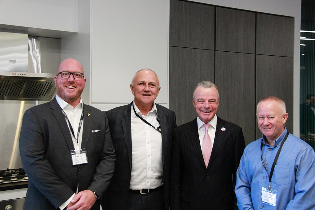 Gavin Pound David Ackery Dr Brendan Nelson and Alan Stephenson