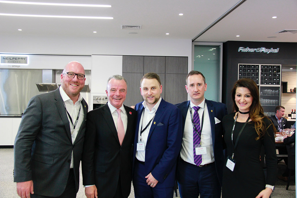 HNC team and Dr Brendan Nelson