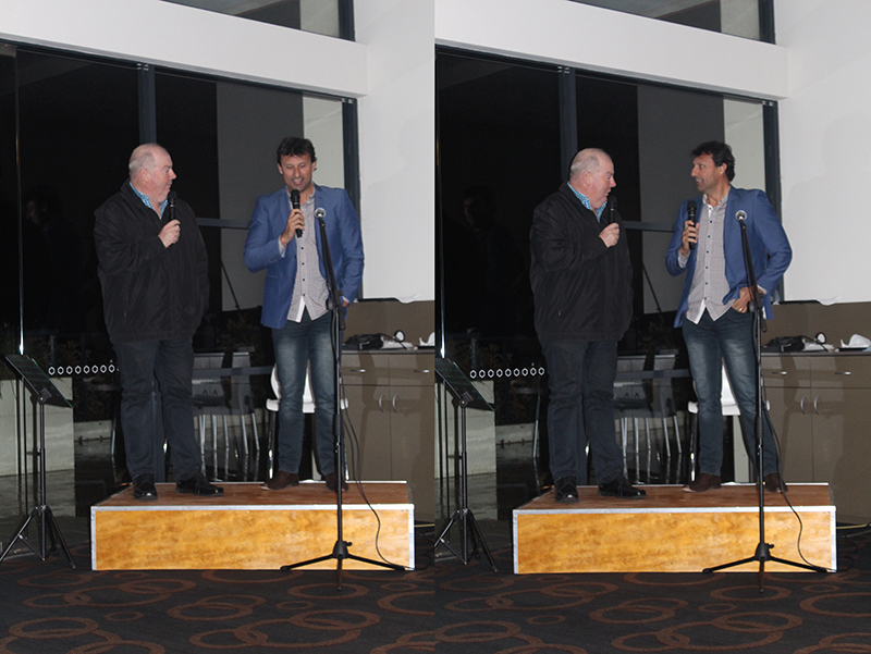 Steve Gillis and Laurie Daley