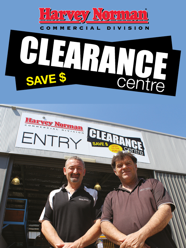 Clearance Centre feature