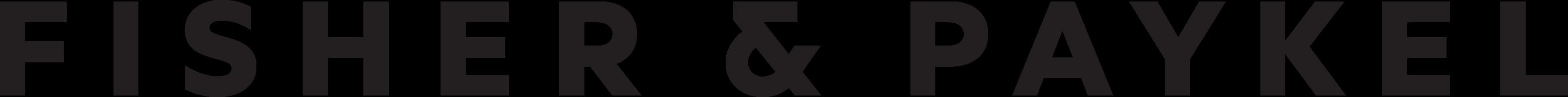 2017_Fisher&Paykel logo_black