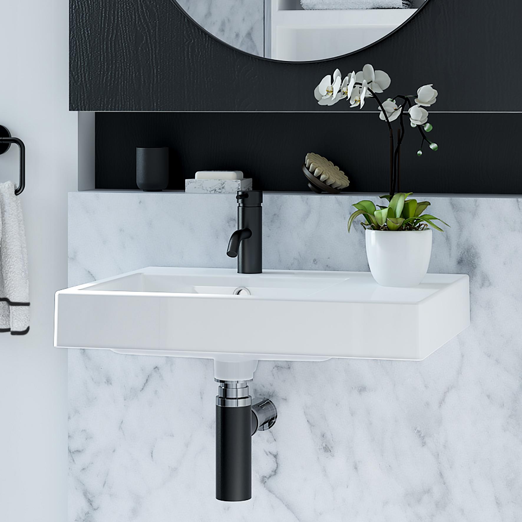 wall basin
