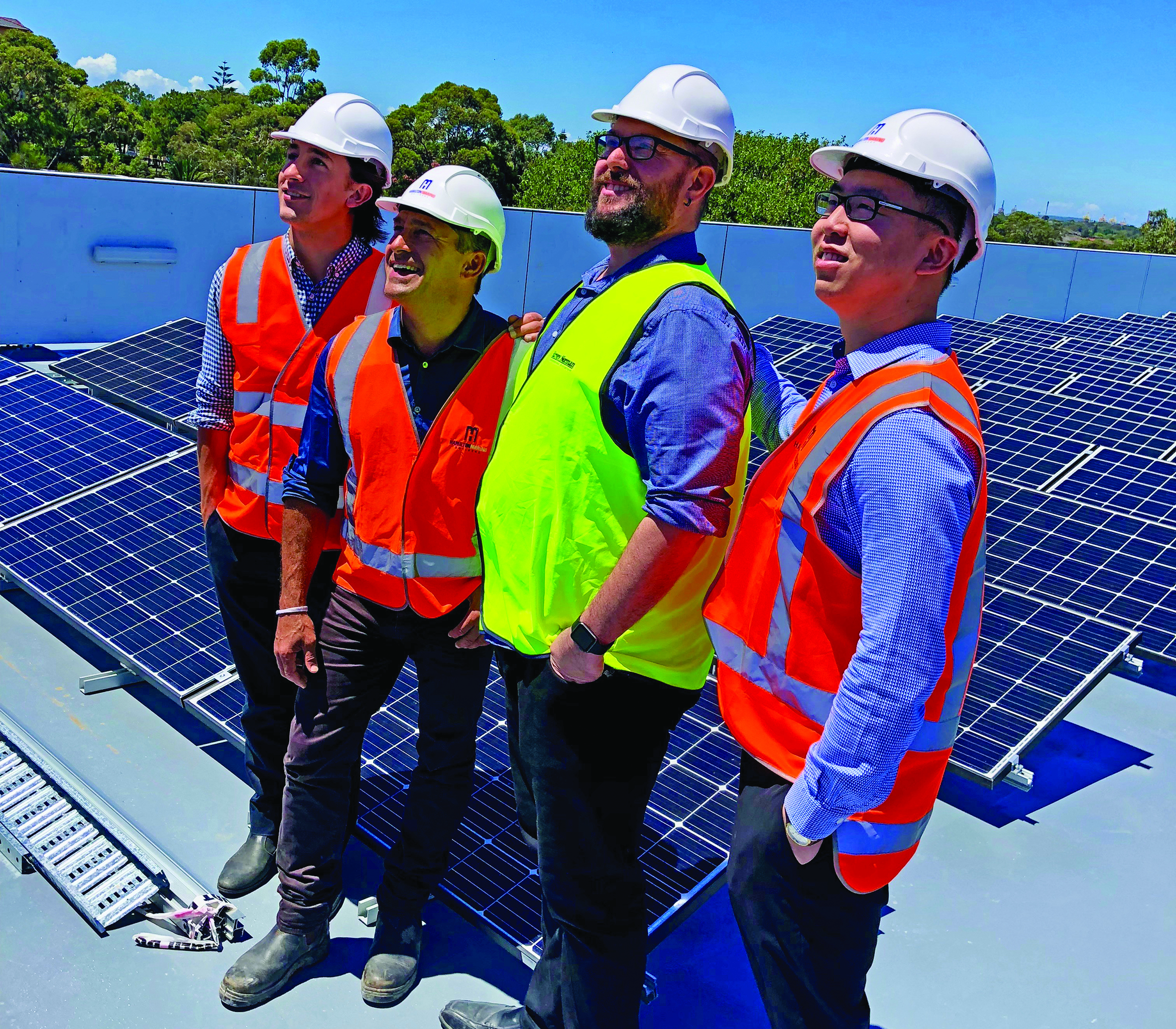 Burcham solar roof boys