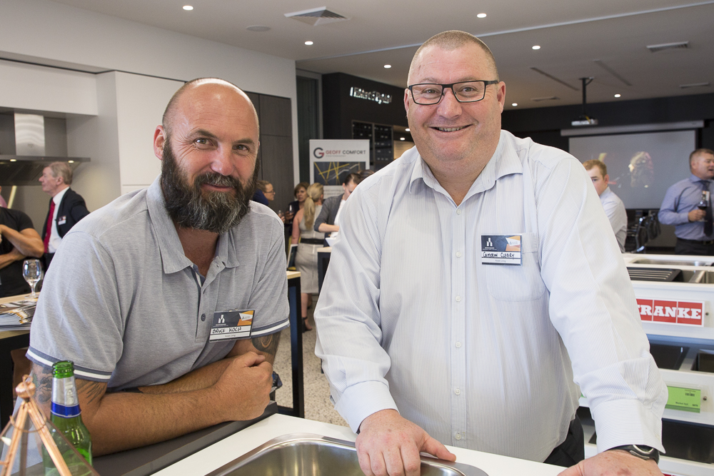 MBA (ACT) 2018 Building Awards Launch, Harvey Norman Commercial, Mitchell, ACT, 28 November, 2017, for MBA (ACT), photo by Geoff Comfort 02 6286 1688, Canberra Photographer
