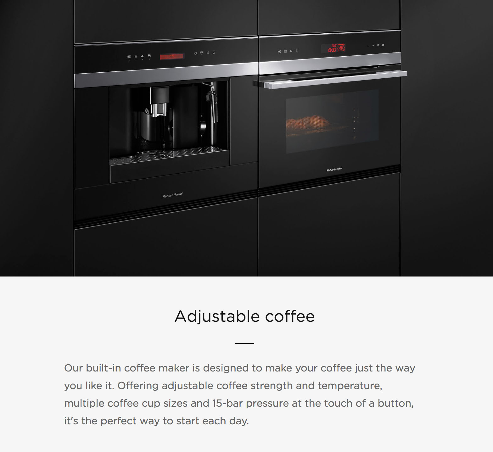 Adjustable Coffee
