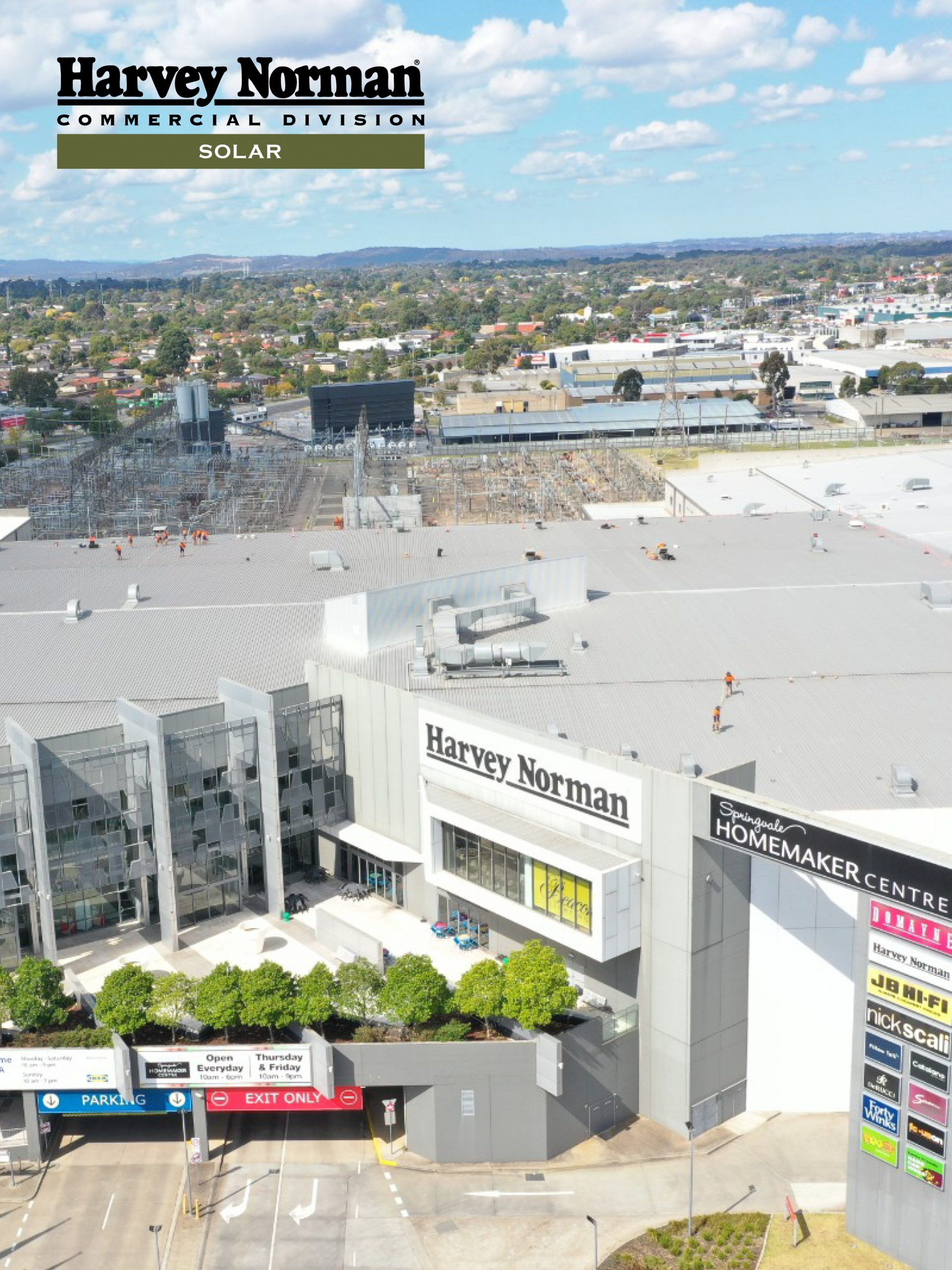 2021_HNCDSolar_AusLargestHomemakerCentre_Blog_Feature Image